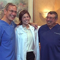 Winthrop dentists Drs. Barry, Howard, and Stephanie Brooks